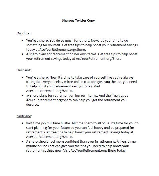 Sheroes Twitter Copy
